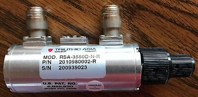TRILITHIC RSA 3550D-N-R 3GHz RF Frequency Range Step Variable Attenuator