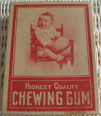 Old Juicy Mint Chewing Gum Display Box