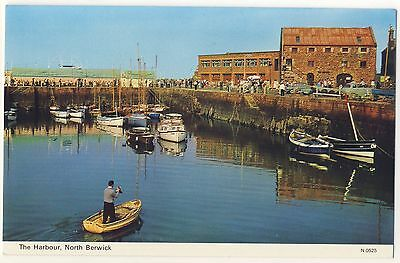 Old Postcard - The Harbour, North Berwick (Dennis) - Unposted 2000