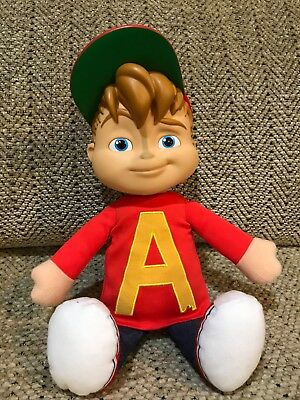 fisher price alvin and the chipmunks 12 inch talking doll EUC