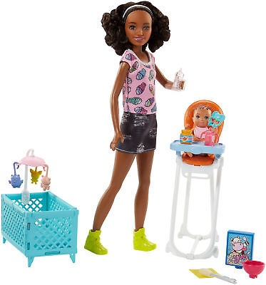 Barbie Babysitters Inc. Doll And Playset