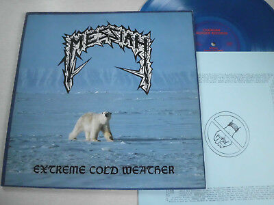 MESSIAH -Extreme cold weather- Metal-LP/Blau Vinyl!!!MINT--!!!1987