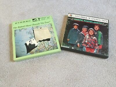 Reel to reel 4 track stereo tape lot