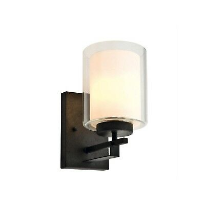 Design House 578153 Impala 1-Light Rustic Bronze Wall Sconce