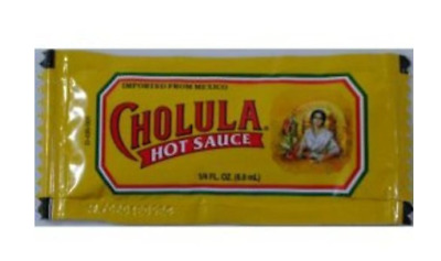 Cholula Picante Hot Sauce Medium Packets Taco Lunch Easy Grab Spicy Food 50 each