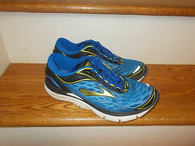 new arrival d016b 65133 BROOKS TRANSCEND 3 Men's Blue Running Training Athletic Shoes size 9 EUC