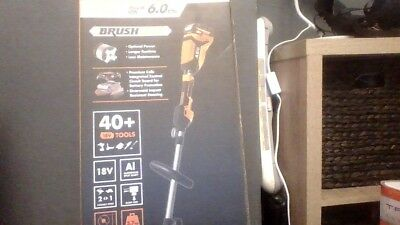 AEG18v 6ah brushless grass trimmer kit brand new and boxed
