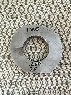 "Royal Oak grinder grinding cam 2 Flute 0.260"" Drop"