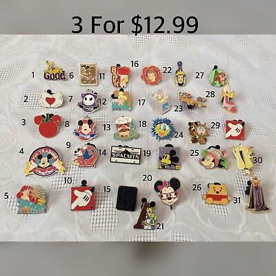 Disney Pin Trading Authentic Pins⭐️Choose 3 for &12.99⭐️