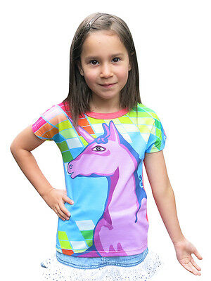 Rainbows and unicorns - designed by deezo kids - FREE DELIVERY