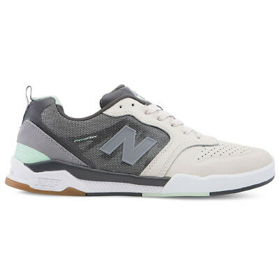 super popular 89012 259b1 New Balance # Numeric 868 Sneakers (Grey/Mint) Men's Skate Soccer Shoes