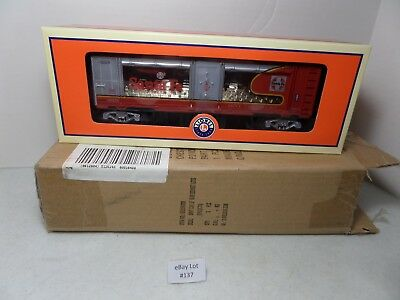 (Lot #137) Lionel O Scale Train LOTS 2011 Santa Fe War Bonnet Mint Car 6-52590