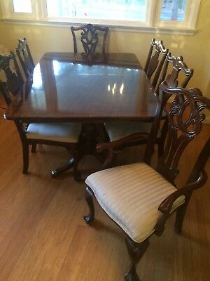 Bon Complete Dining Room Set Table, 6 Chairs, China Cabinet And Buffet