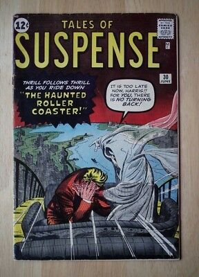 TALES Of SUSPENSE # 30! Marvel Silver Age Comic KIRBY ART! No Reserve! WOW!