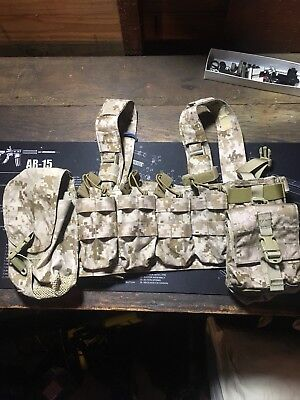 First Spear SCAR H rig With Pouches, Aor1, Aor2, Eagle Industries, Devgru