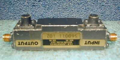 7-8 GHz microwave band-pass filter, SMA connectors