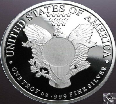 1 oz Sunshine Mint Silver Walking Liberty Round **.999 fine & with MintMark SI**