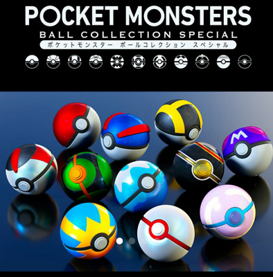 Bandai Limited Pokemon Pocket Monster Ball Collection SPECIAL Set Of 11 F/S