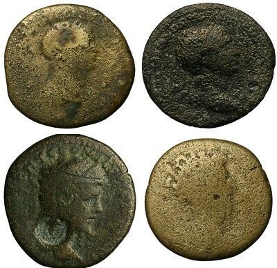 Lot of 4 Large Ancient Roman Coins