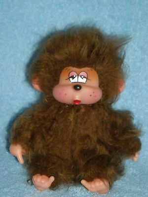 1979 POKI thumb sucking rubber face RUSS BERRIE plush vintage DOLL