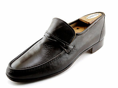 Brown Handmade CHURCH'S Buttersoft Loafers Shoes 10.5 N fits 9.5 M
