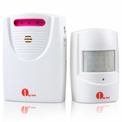 1byone Wireless Driveway Alert Alarm System Infrared Sensor Home Security