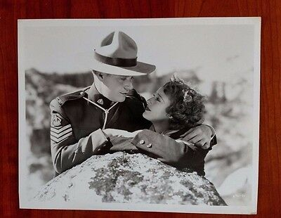 "Vintage Nelson Eddy, Jeanette MacDonald photo (""Rose Marie"" !936)"