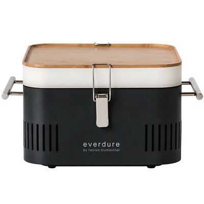 Everdure by Heston Blumenthal - CUBE - Portable Charcoal Barbeque - HBCUBEG -...
