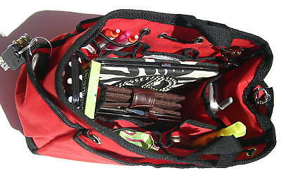 1 Kwiki Purse Insert Organizer LARGE RED COLOR fully lined