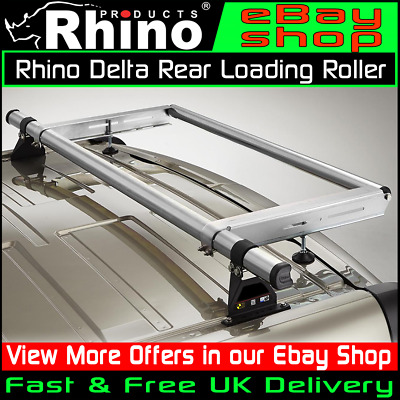 H1 Rhino Delta 2 Bar Roof Bars Roof Rack Load Stops for Citroen Relay 94-06