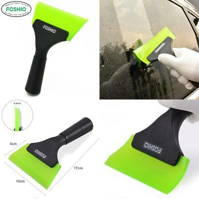 Foshio Professional Ice Scraper Squeegee With Silicone Rubber Blade For Car Show