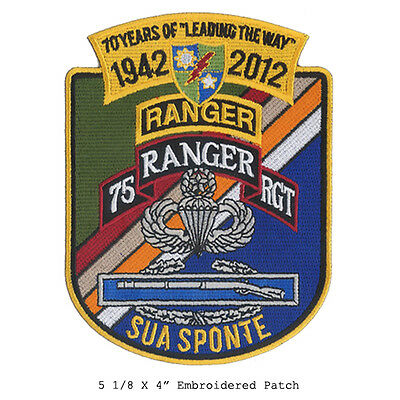US Army Ranger - Anniversary Patch - Sua Sponte Airborne Recon, Ranger OIF, OEF
