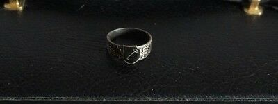 Ring WW2 German Army 1. Panzer Division Military Ring 21 mm