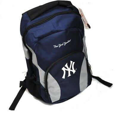 The New York Yankees USA Major League Baseball MLB Rucksack Backpack blau