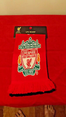 Liverpool Official 2013 Scarf Like New Ideal Gift