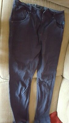 Boys NEXT Blue Jeans Chinos Age 16 Years Worn once