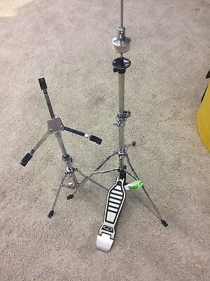 Groove Percussion Hi Hat Cymbal Drum Stand Hi-Hat Mount and snare stand