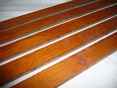 "Antique 1 1/2"" Oak Flooring - C. 1890 Tongue and Groove Architectural Salvage"
