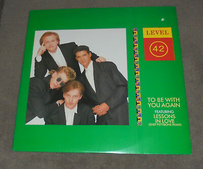"12"" Maxi  Level 42 ‎To Be With You Again  ,Mint- unplayed, Polydor ‎885 694-1"