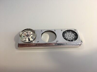 Tiffany & Co Compass,Lupe,Lineal 925 Silber