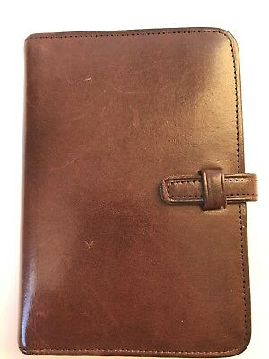 Vintage Coach Leather Day Planner Address Book