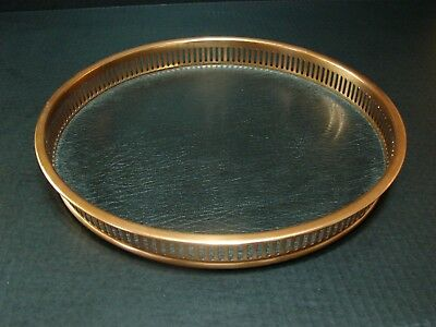 Vintage mid century modern COPPERCRAFT GUILD Copper  Serving Drink Tray