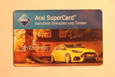 Aral SuperCard, JP Performance: Ford, Nr. C GE002710 (ohne Guthaben)