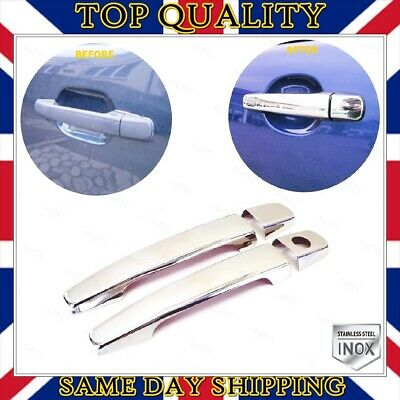 Mercedes SLK R170 Coupe Chrome Door Handle Cover 2 pcs 1996-2004 Stainless Steel