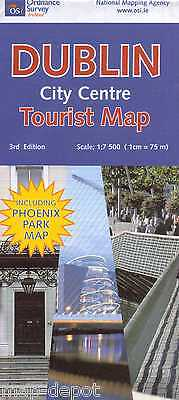 Dublin City Centre Tourist Map - 2015 Edition - New - Ordnance Survey