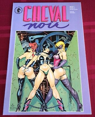 Cheval Noir #1 VF/NM! Dave Stevens Cover! Geof Darrow 1989 Dark Horse Comic