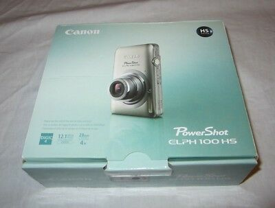 Canon PowerShot ELPH 100 HS  Digital Camera - Box and Inserts Only