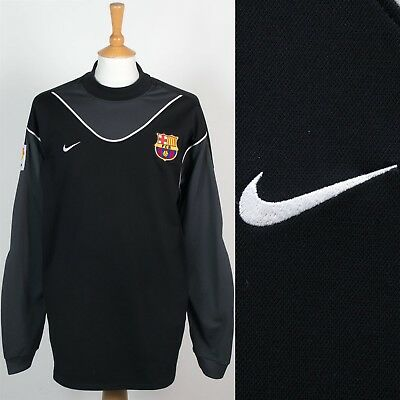 promo code 09253 d6aca MENS NIKE FC Barcelona Goalkeeper Jersey Shirt Padded Sleeves Football  Soccer Xl