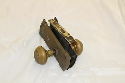 Antique Brass Door Knob, Skeleton key Lock