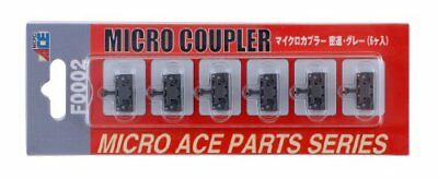 Micro Ace N gauge F0002 micro coupler confidential 6 pieces of gray